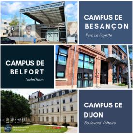 ECM école de commerce et management campus Dijon Besançon Belfort
