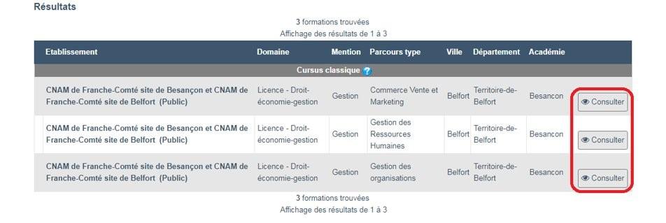 Licence du Cnam après Bac
