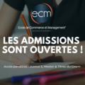 les admissions à l'ECM - alternance BTS Licence Master