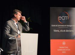 Arnaud Montebourg Conférence ECM Besançon école de commerce et management