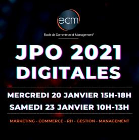 JPO Portes ouvertes ECM 2021