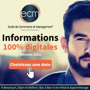 Informations ECM Besançon 2021 - Informations ECM Dijon 2021 - Informations ECM Belfort 2021