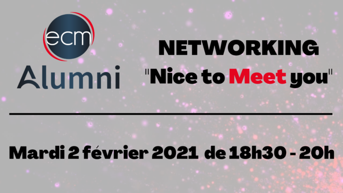 NETWORKING _Nice to Meet you_ (2)