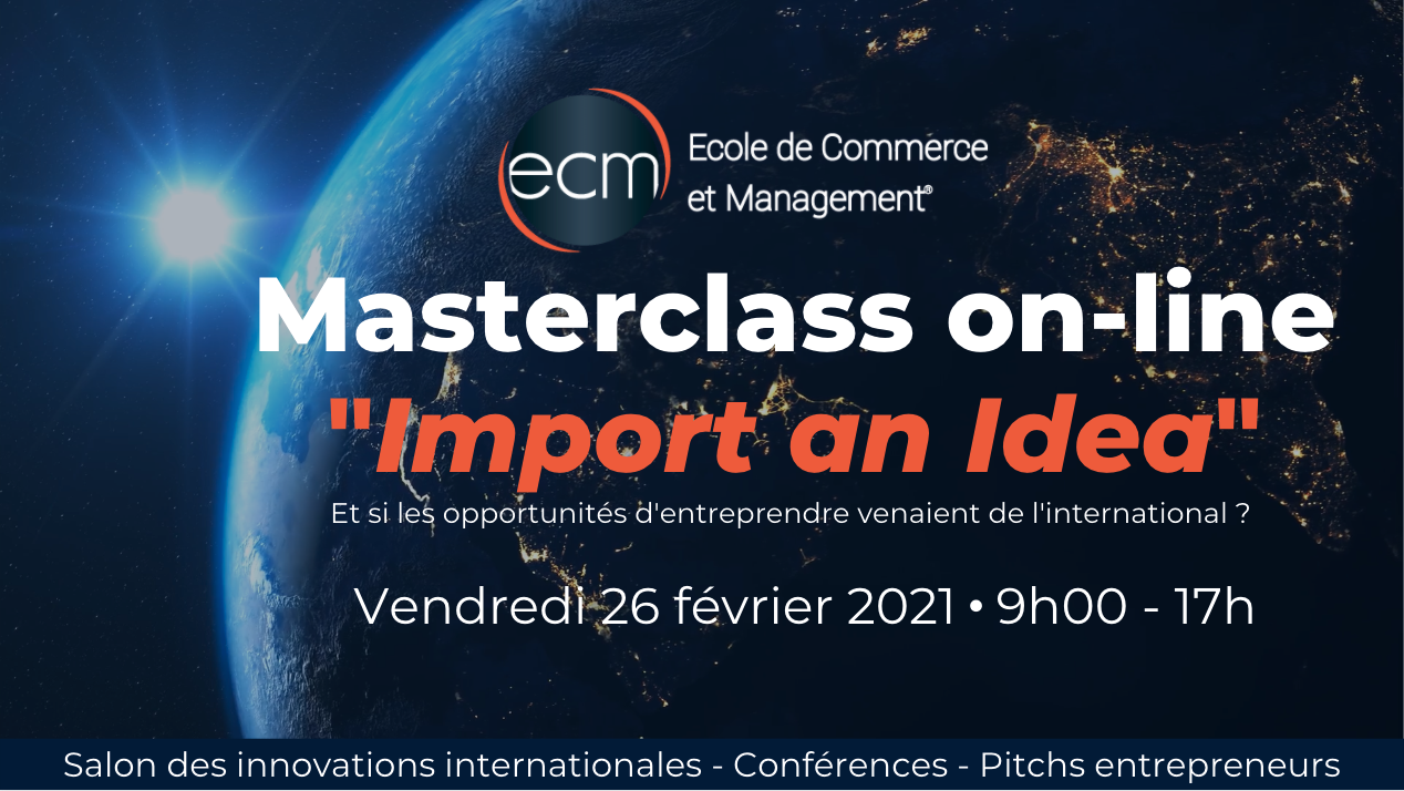 Masterclass 2021 ECM import an Idea