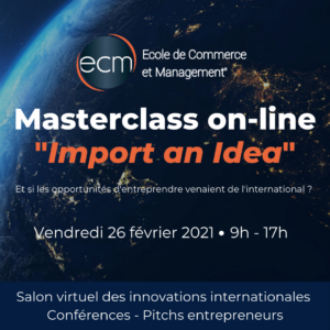 Masterclass import an idea