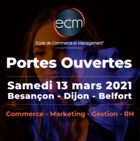 Portes Ouvertes de l'ECM 13 mars 2021