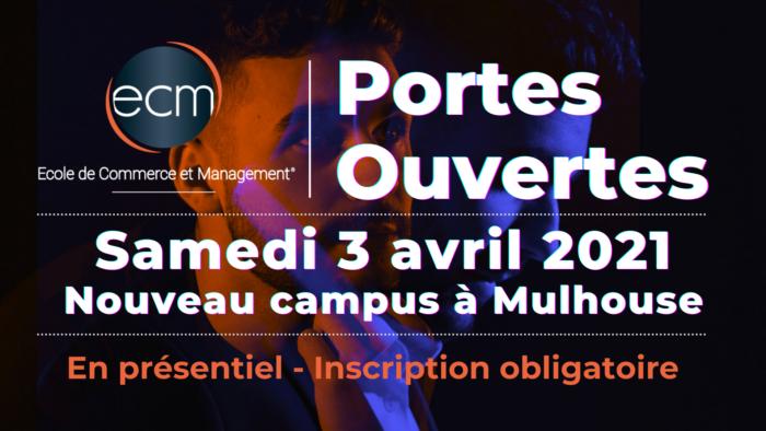 Portes ouvertes ECM mulhouse avril 2021